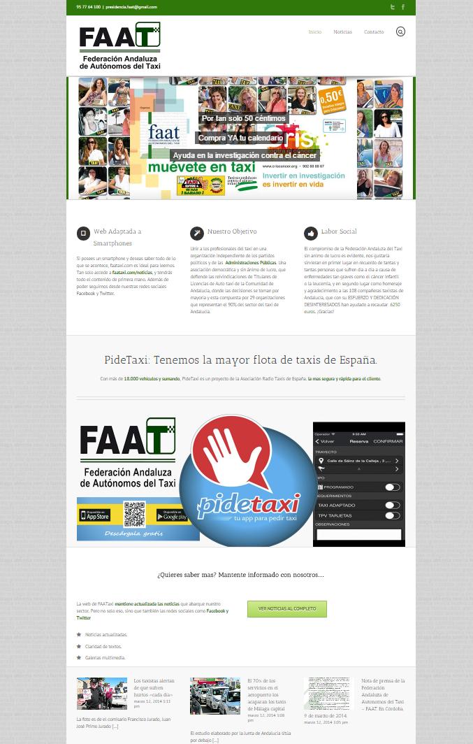 Federación del taxi de Andalucía